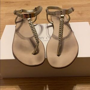 Jimmy Choo Crystal Sandals